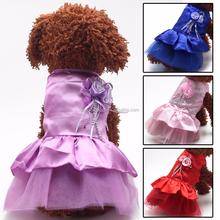 Pet Dog Dlothes Wedding Dress for Dog on Sale Pet Clothing Dog clothes