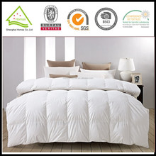 Popular design twin size square quilted white duvet