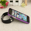 Customized Ultra-thin Metal Case Cover Bumper For Iphone 5/5C/5S