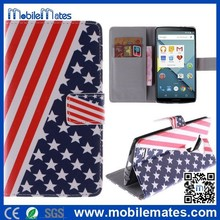 for LG G4 Flip Cover, for LG G4 National Flag Leather Wallet Case with Stand, for LG G4 Phone Cases Wholesale