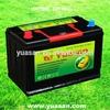 Yuasan Super Calcium Silver Battery 12V 90AH MF Car Battery for Auto Starting -59017MF