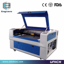 China engraved plastic name plates machine/clothing laser cutting machine