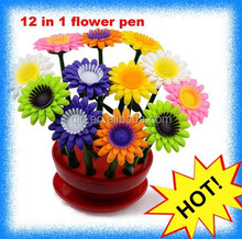 plastic 3d pen in flower shape