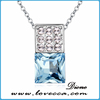 genuine austrian crystal jewelry Baroque Pendant necklace Many Colors & Sizes
