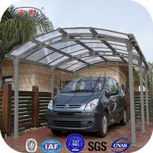 ANLI PLASTIC new design polycarbonate uv car awning