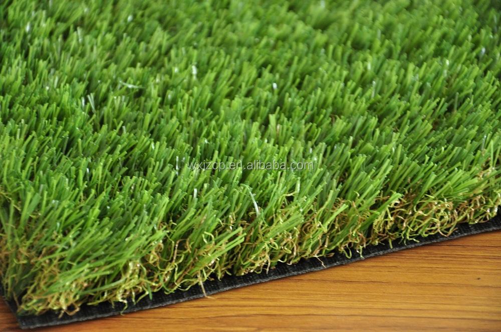 Garden synthetic natural landscaping grass with v shape no for Natural grasses for landscaping