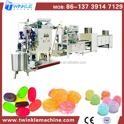 China Wholesale High Quality Small Capacity Center Filling Hard Candy Depositing Line