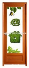 swing estilo abierto y puerta interior del pvc