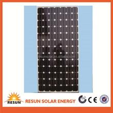 High Efficiency 200w mono solar panel for 1000 watt solar panel
