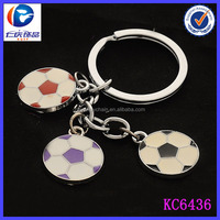 World Cup Souvenirs Football Club Promotional Gift Metal Keyring