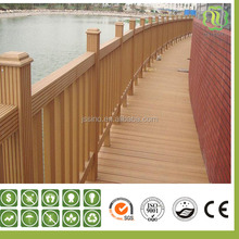 cheap good price european standard outdoor/garden wood plastic composite ,wpc fence
