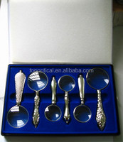 luxury magnifying glass set