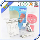 China ventilador elétrico recarregável luz/recarregável fan permanente