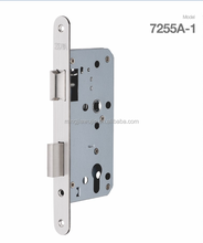 Mortise lock body for door