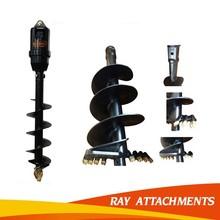auger,attachments for excavator,excavator bucket,ice breaker,hammer,blade etc