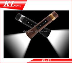 Bike Camping Multifunctional LED Flashlight Torch Micro MP3 Music Player 2200MAH power bank FM radio bicycle Sport Speaker