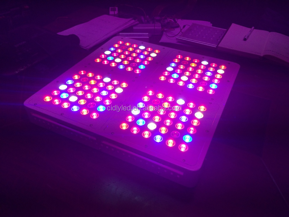 full spectrum 600w led plant grow light panel equal 1000. Black Bedroom Furniture Sets. Home Design Ideas