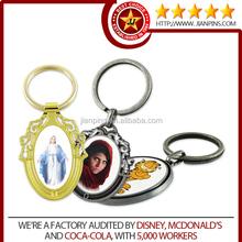 Best Gifts Good Price Digital Printing Metal Keychain