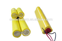 Rechargeable AA 7.2v 600mah nicd battery pack for electric toy