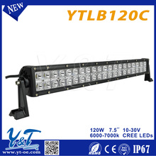 YTLB120C more powerful india price led light bars 120w Shenzhen factory certified with CE RoHs & Emark