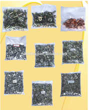 freno revestimientos remaches, tamaño completo, acero, aluminio, cobre, latón