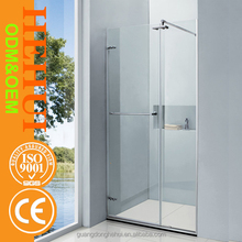 2RC-N217 double shower cabin and pivot bathtub shower screen for 8mm fancy custom made shower enclosure(ce)
