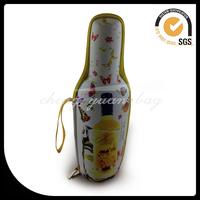 Custom high quality hard eva wine bottle carrying case/box
