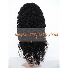 Human hair wig deep wave 20 inch #1