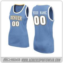manufacturer womens basketball uniform design