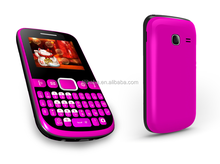 factory price cheapest dual sim qwerty mobile phone with TV optional
