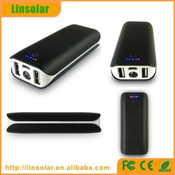 mobile phone accessories dual USB 4400mAh rechargeable external battery charger mobile phone