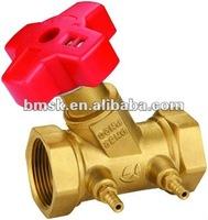 water flow balancing valve