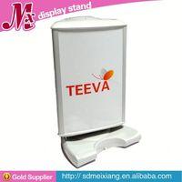 Plastic food display cabinet, MX6032 popular Plastic restaurant menu display stand