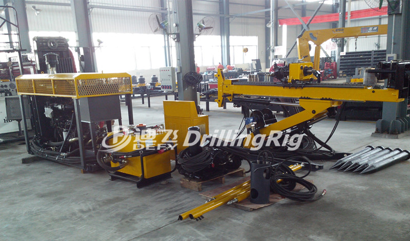 Compact And Portable Dfu 300 Horizontal Core Drilling