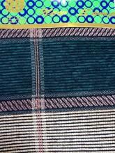 Popular high quality new plaids coating fabric