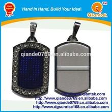Placa de identificación personalizada de aluminio LED