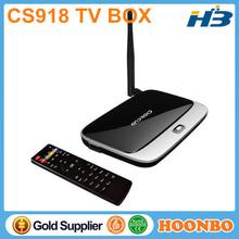Promotional Kodi XBMC CS918 Plus Quad Core Full Video Format Decoding OTT TV Box