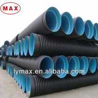 Large Diameter Steel Strip Reinforced Corrugated Drainage Pipe