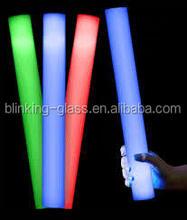 clolorful electric glow sticks,foam light sticks