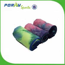 Personalized design microfiber fabric yoga towel