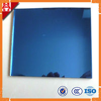 4mm 5mm 6mm tinted blue glass mirror