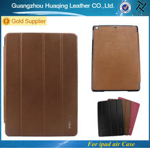 For Origanl apple ipad air genuine leather smart cover