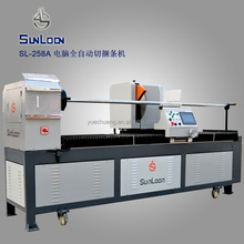 SL-258A automatic fabric strip cutter, fabric slitting machine