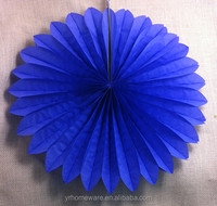 paper cup fan wedding /party decorations