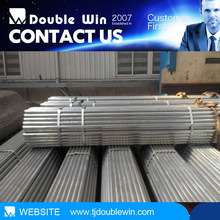 BS 1387 galvanized steel pipe for balcony railing