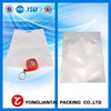 Clear hanger heat seal bag for earphone packing