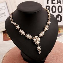 Bridal jewelry wholesale bridal pearl necklace accessories wholesale jewelery