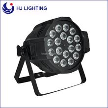 high brightness color changing led uplight 18pcs 10w 6in1 led par nightclub lighting, slim led par 64