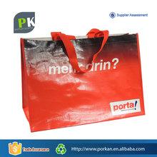 Custom Reusable Biodegradable Shopping Carrier Bag