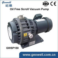 Portable High performance scroll vacuum pump 220V/380V with CE, certificates